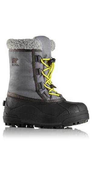 Sorel Cumberland Støvler Børn grå/sort